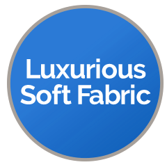 'Luxurious Soft Fabrics'