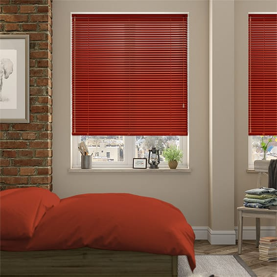 Elements Spanish Rose Aluminium Venetian Blind - 25mm Slat