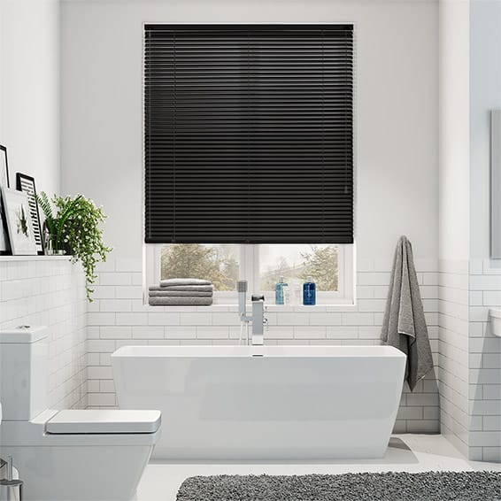 Spirit Midnight Aluminium Venetian Blind - 25mm Slat