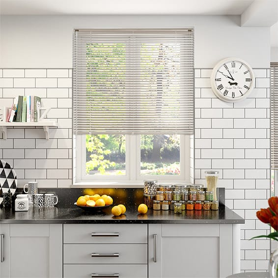 LaMode Chinchilla Aluminium Venetian Blind - 25mm Slat