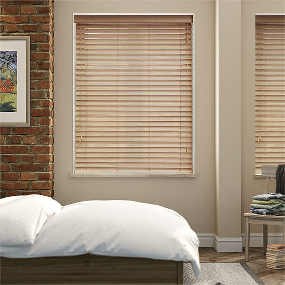 Grain Natural Timber Style Venetian Blind - 50mm Slat