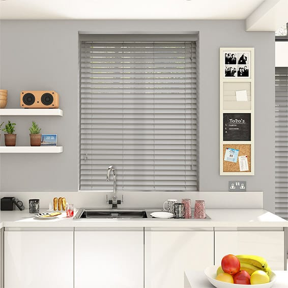 Luxe Statue Timber Style Venetian Blind - 50mm Slat
