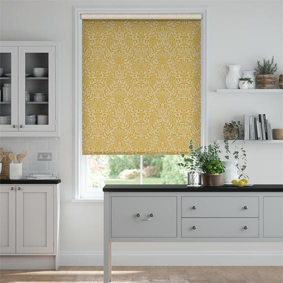 William Morris Acorn Sunshine Roller Blind