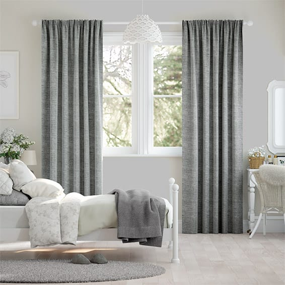 Aeolia Silver Curtains