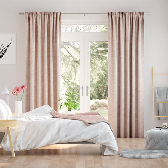 Aeolia Soft Pink Curtains