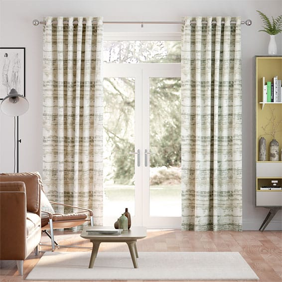 Aguas Linen Pebble Curtains