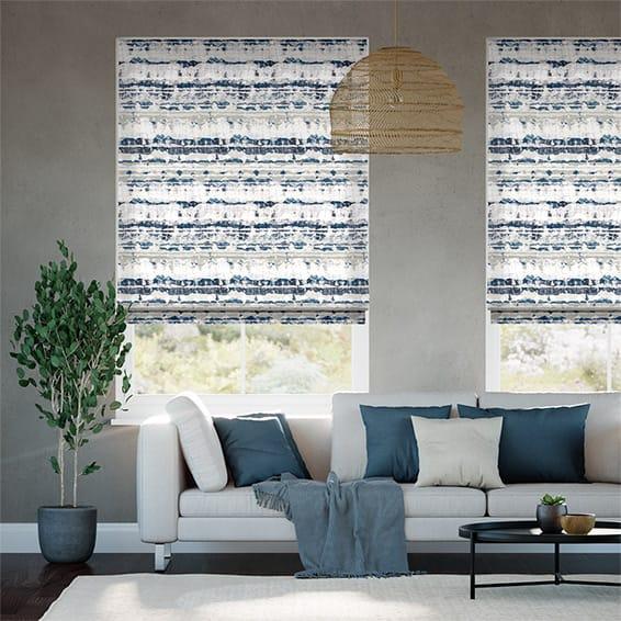 linen white bespoke made fran zincminkblinds roller roman blinds from