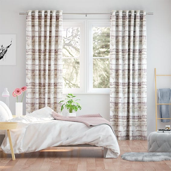 Aguas Rose Mist Curtains