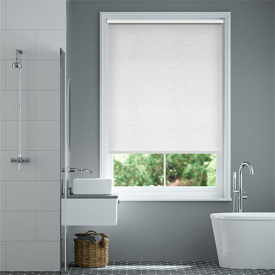 Alivio Satin White Roller Blind