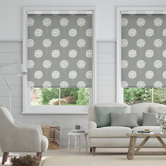 Amity Charcoal Roller Blind
