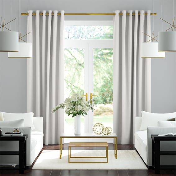 Amore Silver Curtains