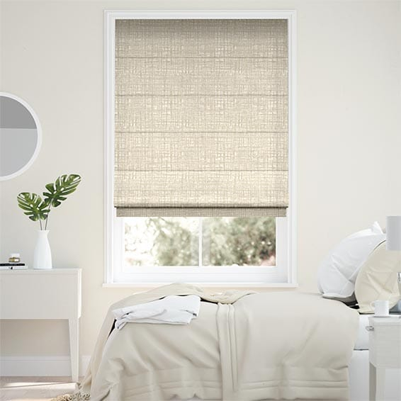 Apollo Spun Gold Roman Blind