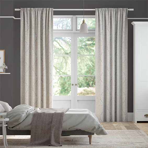 Aurelia Steel  Curtains