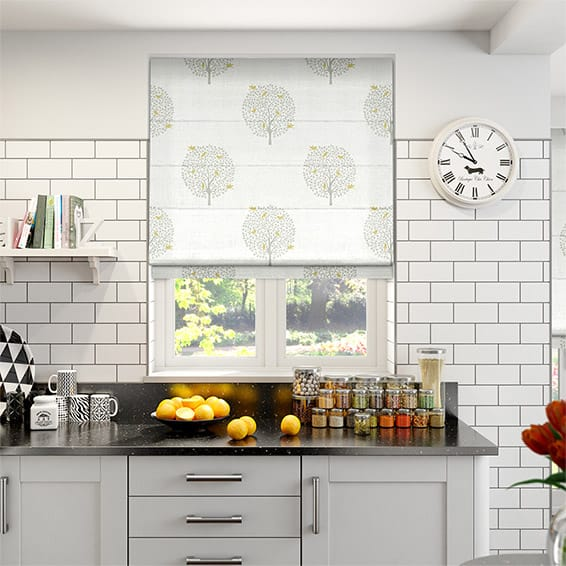 Bay Tree Dove Roman Blind