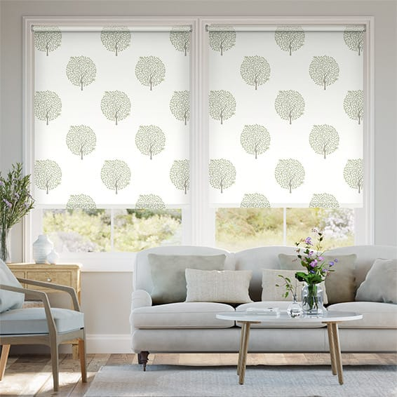 Bay Tree Fennel Roller Blind