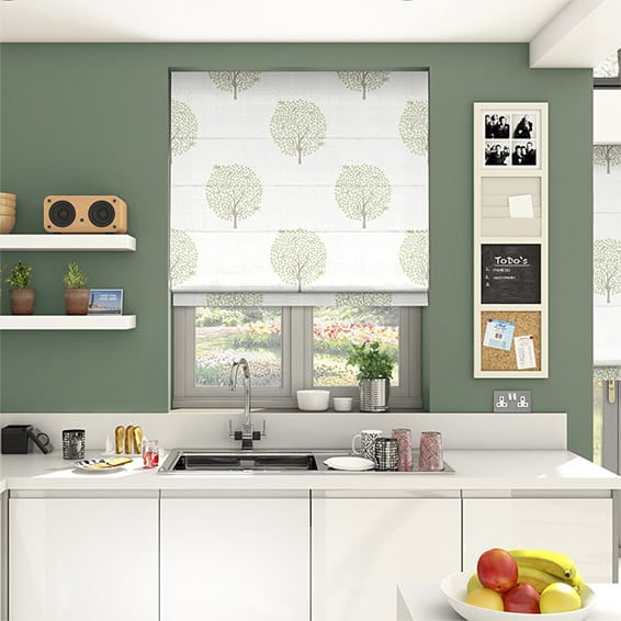 Bay Tree Fennel Roman Blind