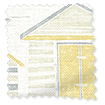 Beach Huts Honey Roller Blind slat image