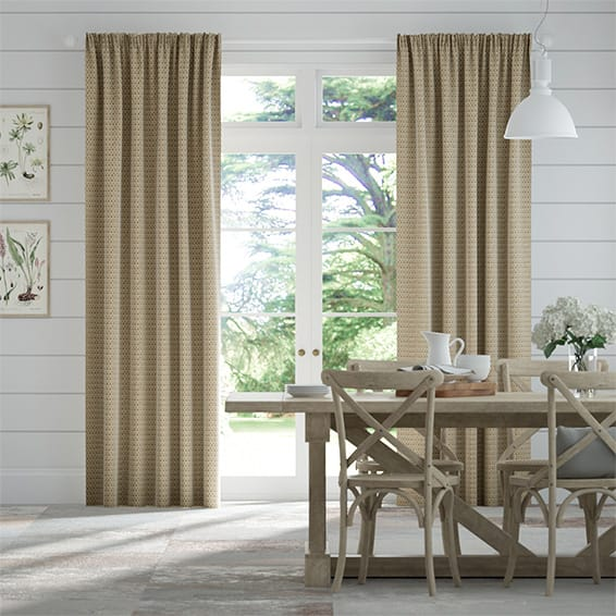 Berber Basket Beige Curtains Blinds Online