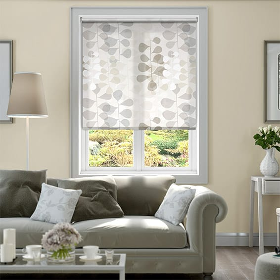 Blooming Meadow Neutral Roller Blind
