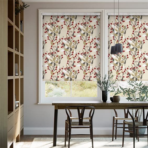 Bursting Berries Cherry Pop Roller Blind