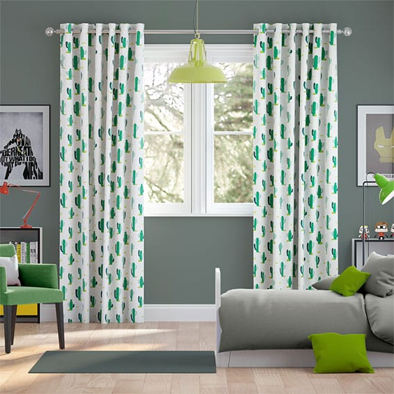 Cacti Zest Curtains