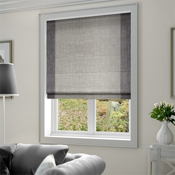 Bedroom Blinds Next Small Bedroom Colour Design Bedroom Sets White Bedroom Remodeling Ideas: Caldicot Woven Grey Roman Blind