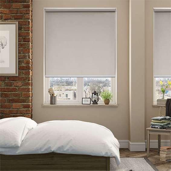 Solace Clay Blockout Roller Blind