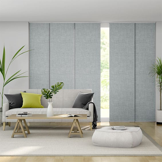Canali Silver Grey Panel Blind
