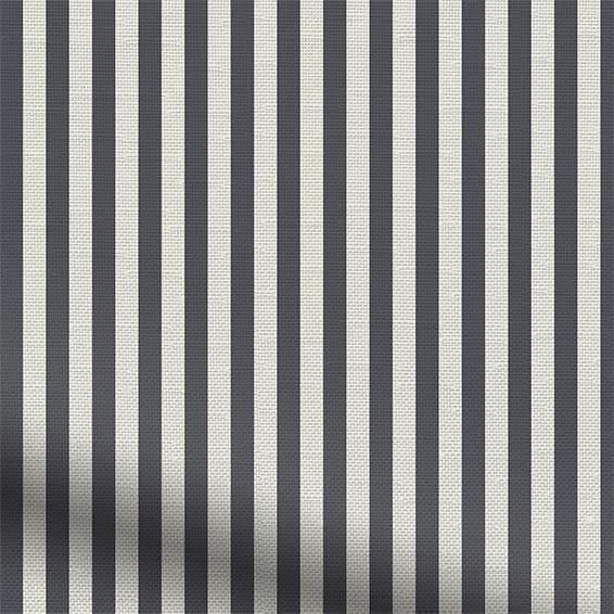 Candy Stripe Charcoal Roller Blind Blinds Online