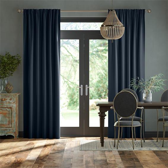 Blue Velvet Curtains, Order Online Now For Australia-wide