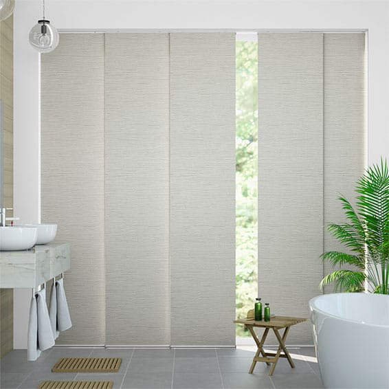 Caress Natural Panel Blind