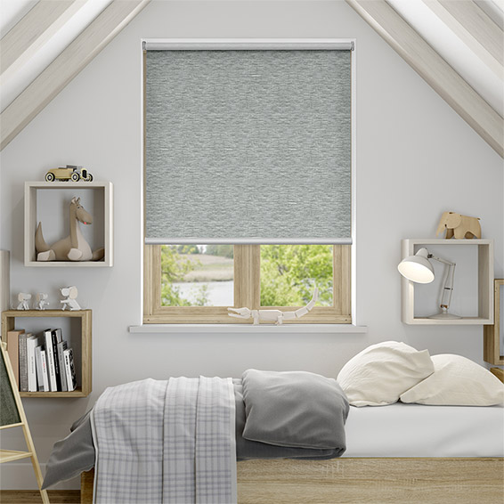 Caress Silver Blockout Roller Blind