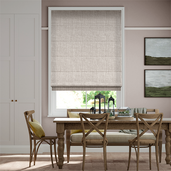 Cavendish Grey Wash Roman Blind