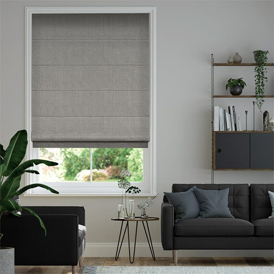 Cavendish Mid Grey Roman Blind