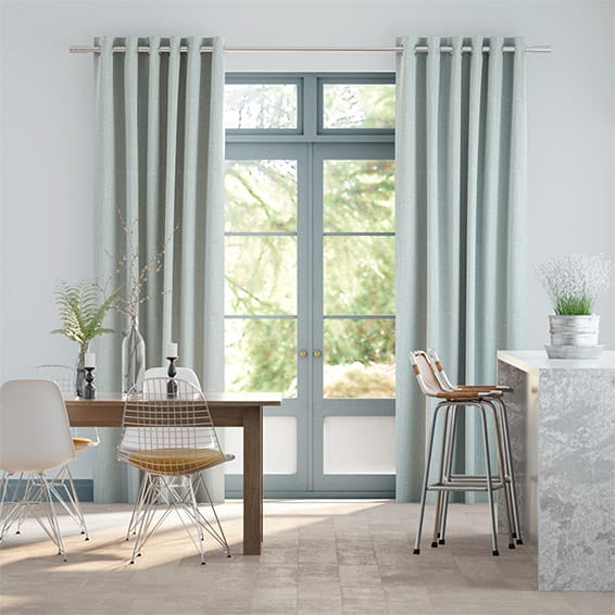 Cavendish Powder Blue Curtains