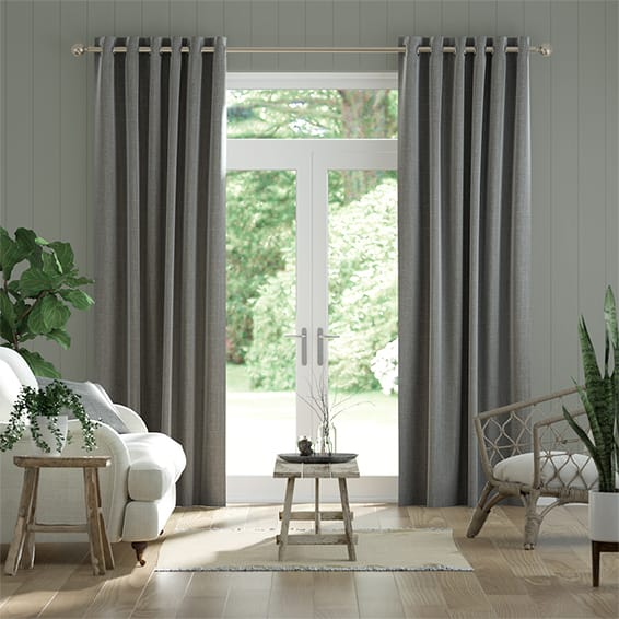 Cavendish Tonal Grey Curtains