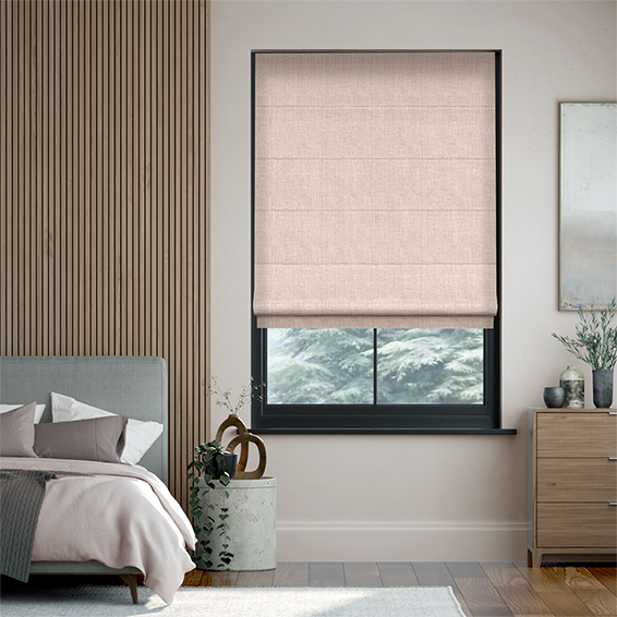 Cavendish Warm Blush Roman Blind