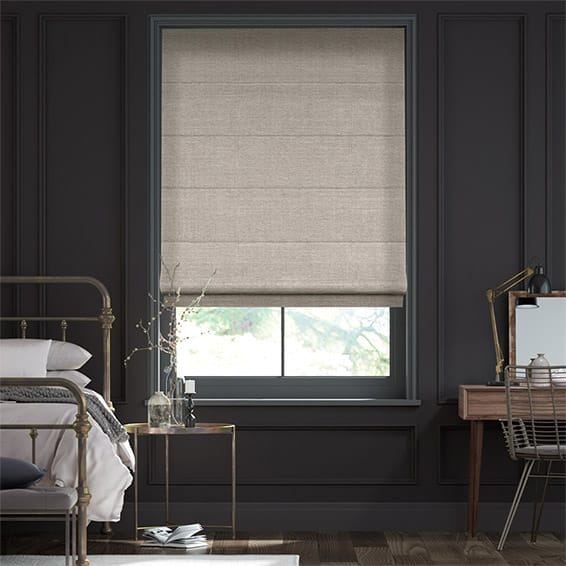Cavendish Warm Stone Roman Blind