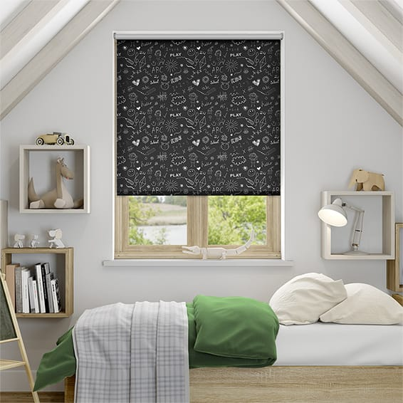 Chalk Board Blockout Roller Blind