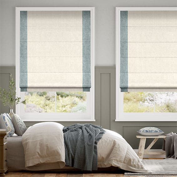 Chimera Purity Blue Roman Blind