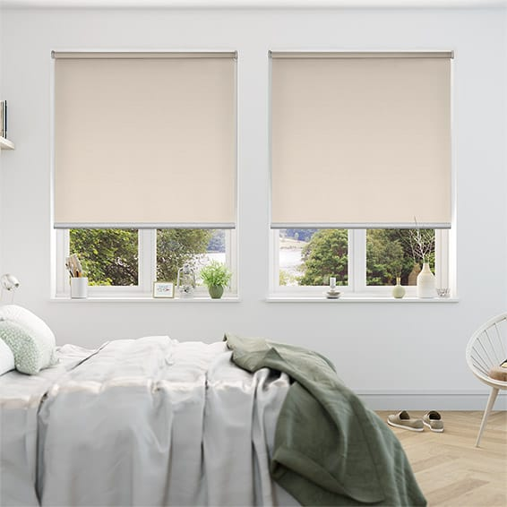 Serenity Almond Blockout Roller Blind
