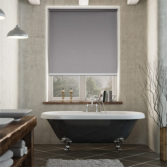 Serenity Blush Blockout Roller Blind