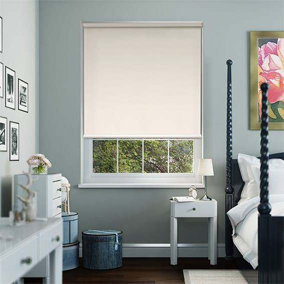 Serenity Cream Blockout Roller Blind
