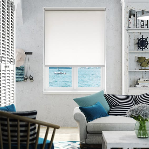 Serenity Dove Blockout Roller Blind
