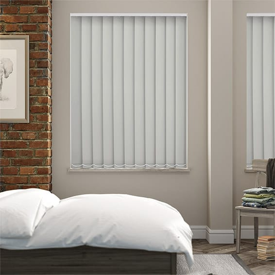Serenity Eucalypt Blockout Vertical Blind - 127mm Slat