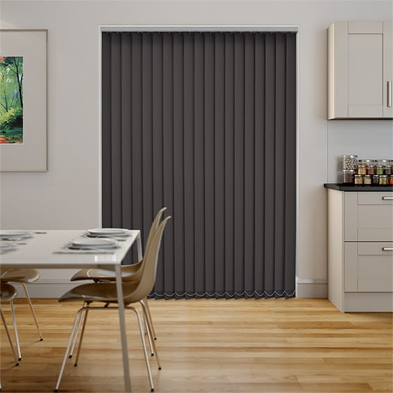 Serenity Fig Blockout Vertical Blind - 89mm Slat