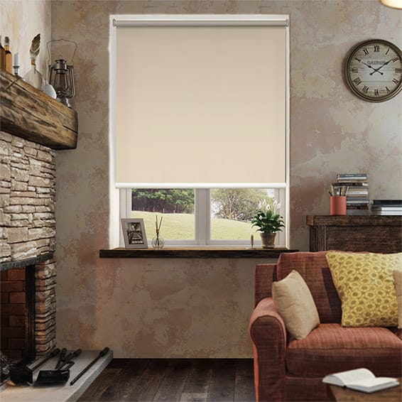 Serenity Latte Blockout Roller Blind