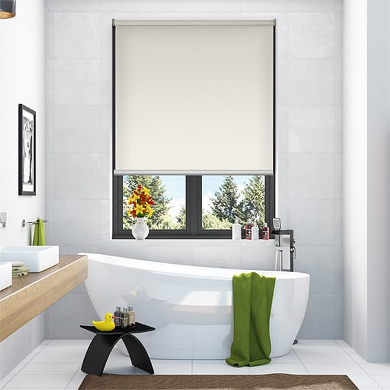 Serenity Powder Blockout Roller Blind