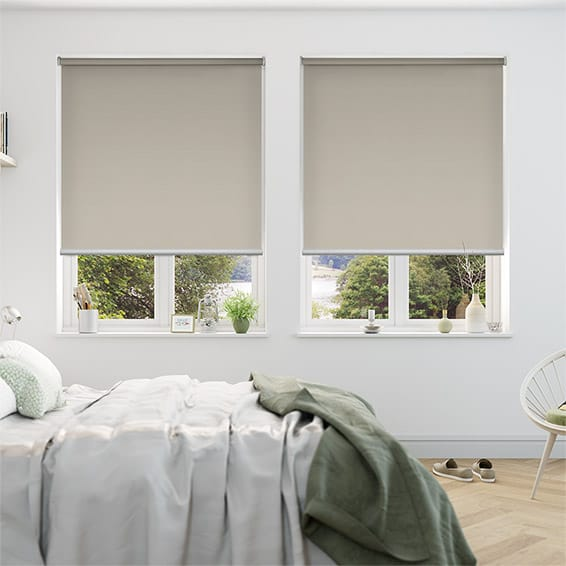 Serenity Pumice Blockout Roller Blind