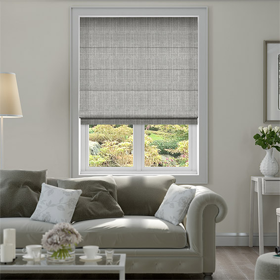 Cotswold Flannel Grey Roman Blind